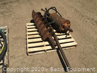 McCMILLIAN AUGER WITH EXTENSION AND BIT