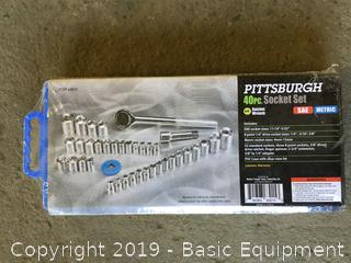 PITTSBURGH 40 PC SOCKET SET