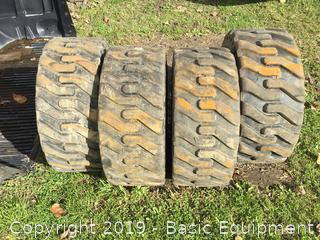 4-Used Bobcat Tire And Wheels
