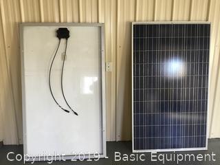 "TWO TRINA SOLAR 65""x39""240 WATT SOLAR PANELS"