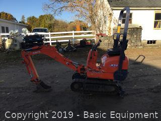 Kubota K008 Mini Excavator