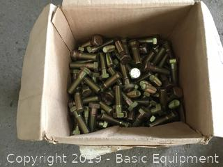 Pallet Of Bolts Nuts Screws And Other Items