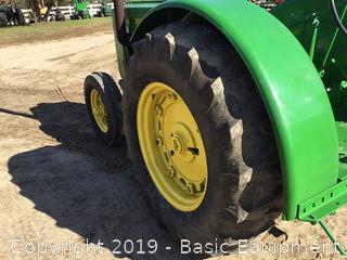 1942 John Deere D Tractor