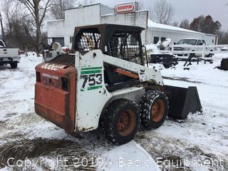 Bobcat 753 Skidsteer