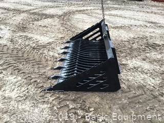 "New 72"" Toothed Rock Bucket"