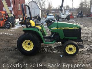 John Deere 4200 Compact Tractor