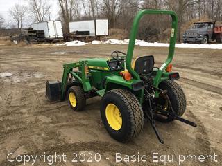 John Deere 855 Compact Tractor