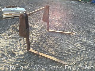 Backhoe Flip Over Forks