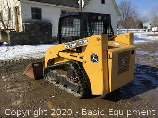 JD CT-315 TRACK SKID STEER