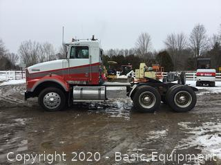 1987 KENWORTH T-800 SEMI TRUCK
