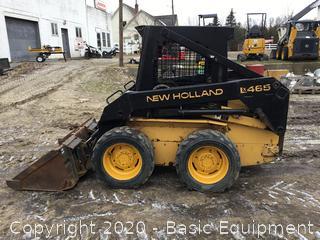 NEW HOLLAND LX465 SKIDSTEER