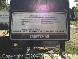 "SEARS CRAFTSMAN 12"" BAND SAW -SANDER"
