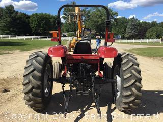 CASE DX55 TRACTOR