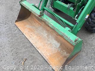 1999 JOHN DEERE 4300 COMPACT TRACTOR
