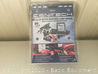 CEN-TECH BATTERY MAINTAINER &FLOAT CHARGER