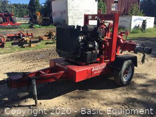 GLOBAL 6GST TOWABLE TRASH PUMP