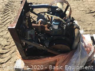 KUBOTA Z482-ES MOTOR