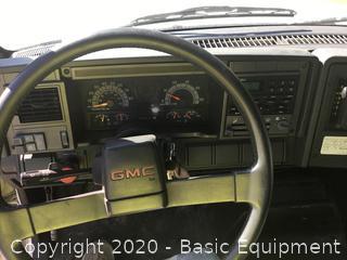 1996 GMC TOPKICK FLATBED TRUCK
