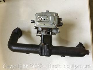 CARB AND MANIFOLD FOR 19HP BRIGGS AND STRATTON MOTOR