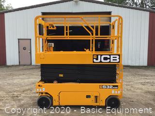 2018 JCB S3246E SCISSOR LIFT