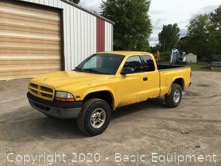 1999 DODGE DAKOTA PICK UP TRUCK