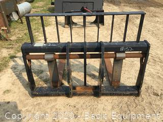 FORKLIFT CARRIAGE WITH FORKS