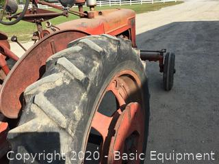 1945 FARMALL H WIDE FRONT TRACTOR