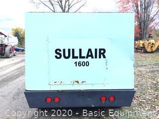 SULLAIR 1600 TOWABLE AIR COMPRESSOR