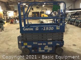2006 GENIE GS1930 SCISSOR LIFT