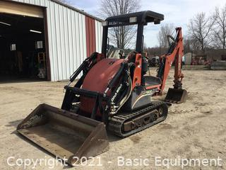 2007 DITCH WITCH XT1600 TRACK BACKHOE