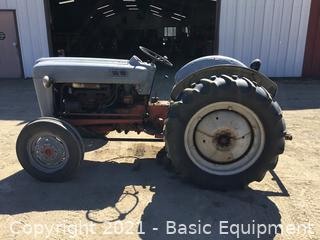 FORD JUBILLE TRACTOR