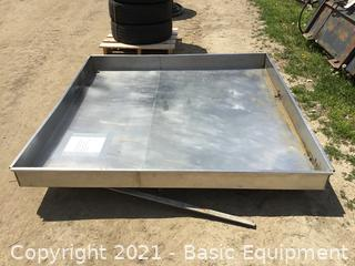 """6'X6'X6"""" STAINLESS STEEL PAN"""