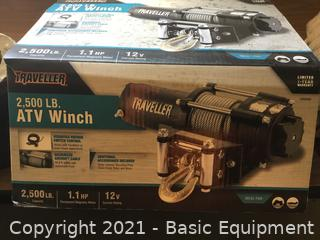 NEW TRAVELLER 2500 LBS ELECTRIC WINCH